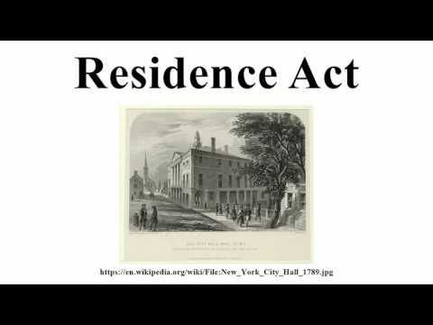 Residence Act