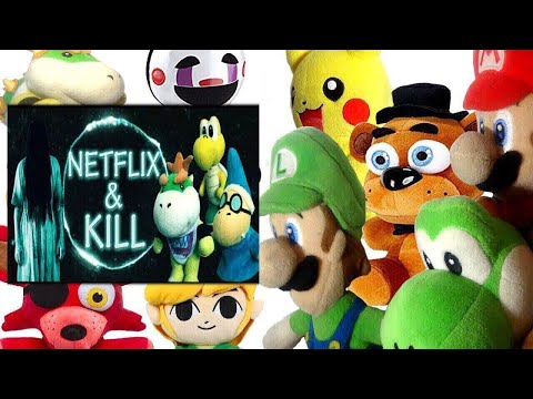 Thumbnail: SML Movie: Netflix and Kill Mario And Luigi Reaction (Freddy,Foxy,Pikachu,Bowser Jr, Puppet & Link)