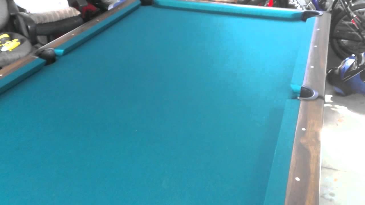 Brunswick Bristol YouTube - Brunswick bristol ii pool table