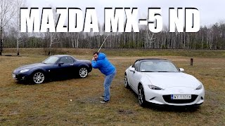 Mazda MX-5 ND (ENG) - Test Drive and Review