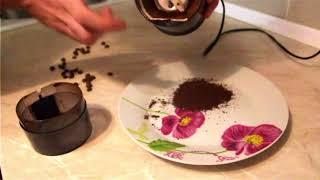 Помол кофе Тестирование кофемолки Lumme LU 2601