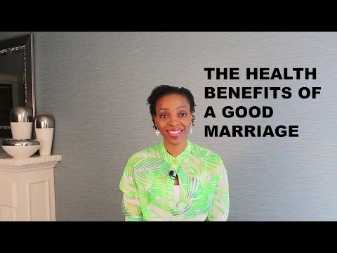 Marriage Benefits: The Health Benefits Of A Good Marriage