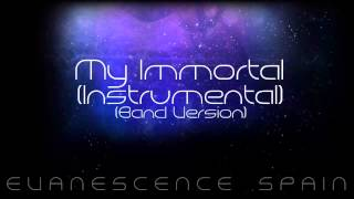 Evanescence My Immortal (Band Version) Instrumental [HD 720p]
