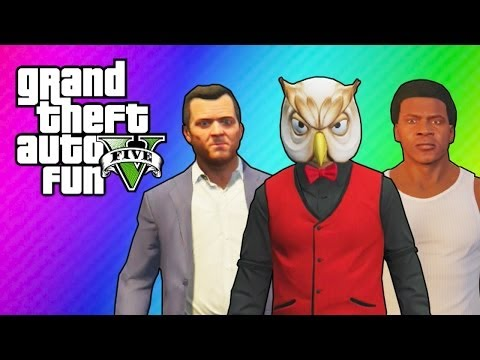 Thumbnail: GTA 5 Online: Franklin's & Michael's House (Ball Hunt Mini Game & Funny Moments)