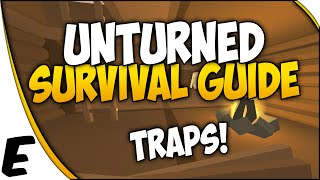 Unturned 3.0 ➤ Survival Guide - Spike Traps, Barbed Wire, Caltrops, Fortifications, Barricades [4]