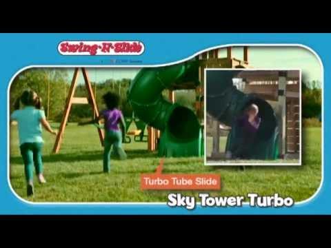 Timber-Bilt Sky Tower Turbo by Swing-N-Slide