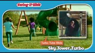 Timber-bilt Sky Tower Turbo By Swing-n-slide