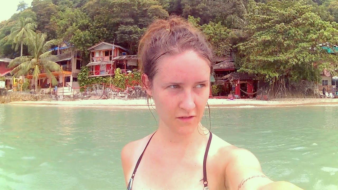 Sabrina Kaiser in paradise koh chang