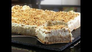 Haselnussschnitte WAHNSINNIG einfach , lecker /NO BAKE/ Butterkeks /Kuchen/ Torte/ last Minute cake