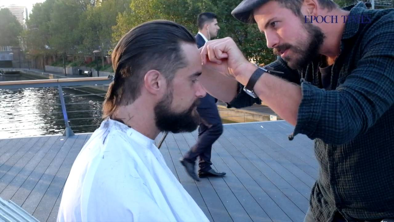 Joshua Coombes Haircuts For The Homeless Youtube