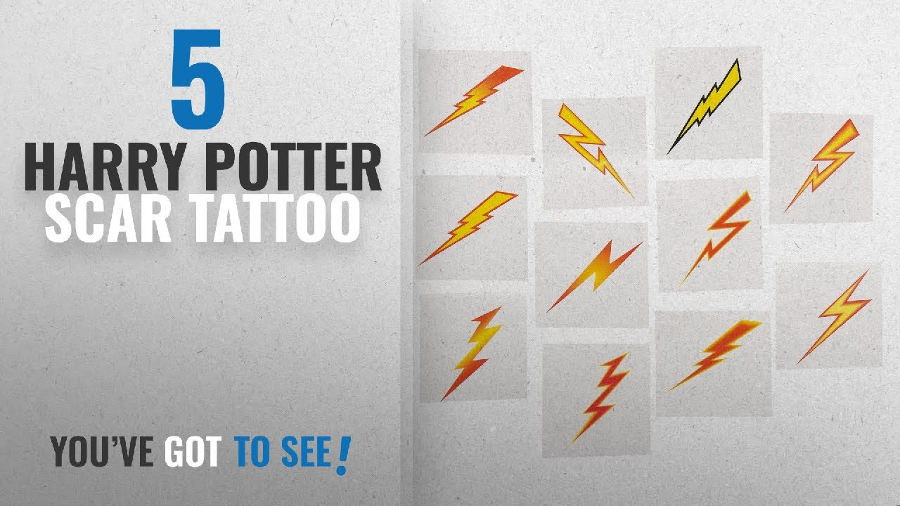 Top 10 Harry Potter Scar Tattoo 2018 Lightning Bolt Tattoos 72