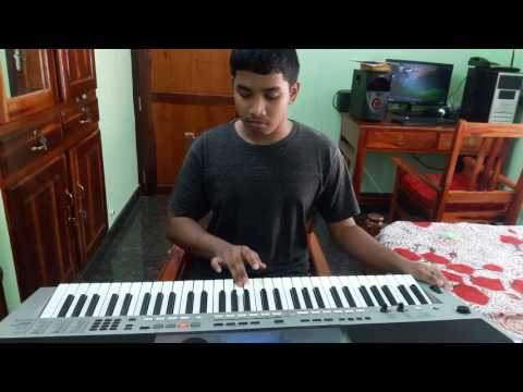 Nokki Nokki Nokki Ninnu -jomonte Suviseshangal In Keyboard (By Jerin)