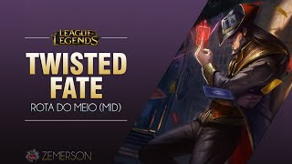 League of Legends -  Twisted Fate (Season 5: BR)
