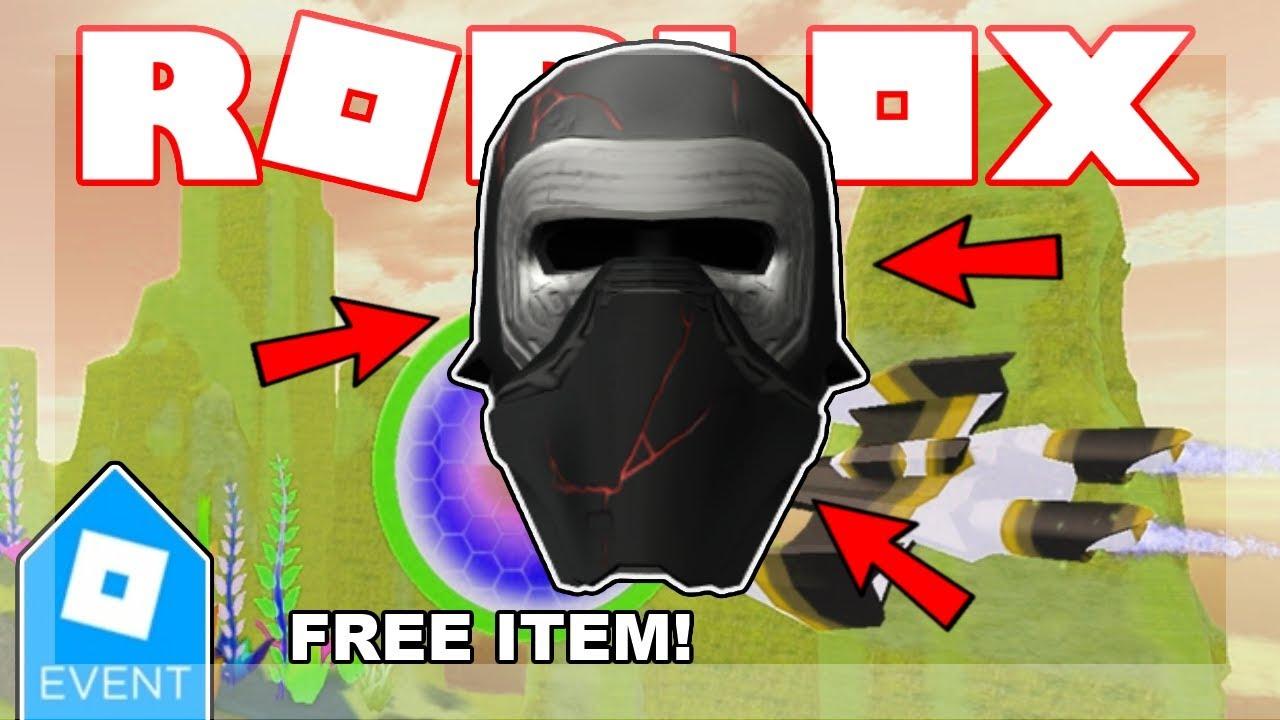 roblox kylo ren helmet promo code