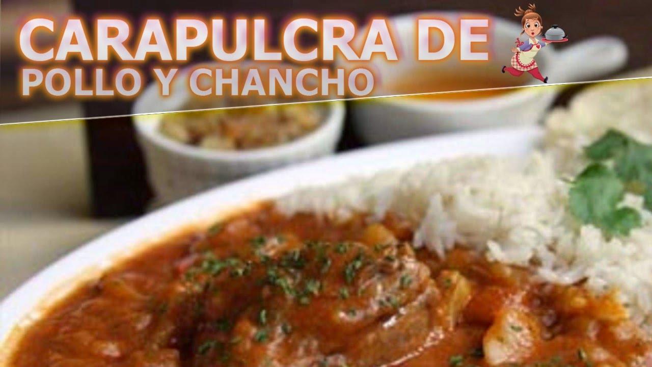 Cocina peruana facil carapulcra con pollo y chancho - Cocinar facil y rapido ...