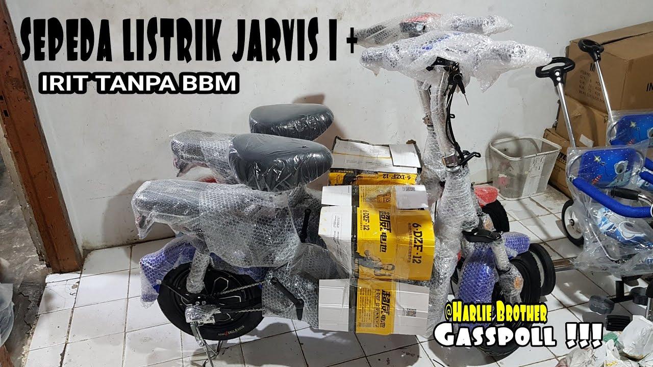 BARU Sepeda LISTRIK Jarvis 1+   E bike Tutorial and Review