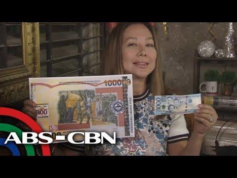 Rated K: P100,000 peso bill! Pinakamalaking salapi sa Pilipinas!