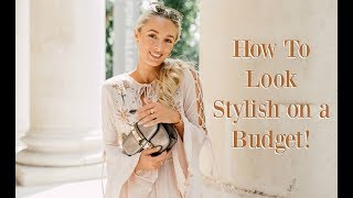 How To Stay Stylish on a Budget  //  Student Money Saving Tips // Fashion Mumblr