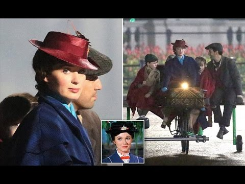 Emily Blunt to film Mary Poppins Returns in London