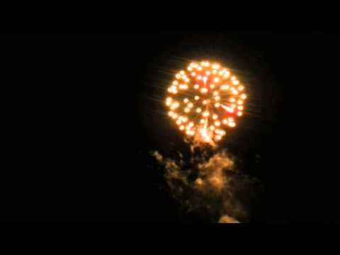 2013 fire works in bar harbor maine