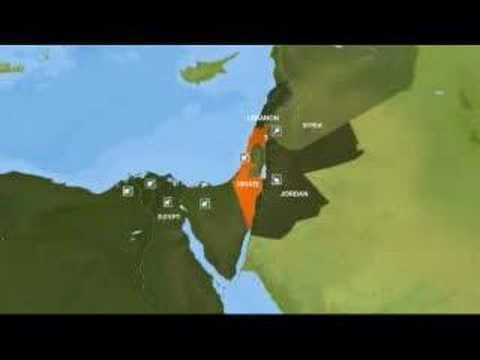 1967 War: Six Day Movements - 04 Jun 07