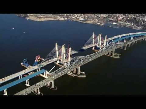 The New Tappan Zee Bridge February 2017