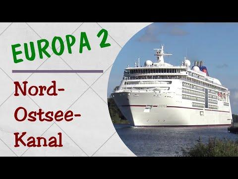 MS EUROPA 2 | Passage Nord-Ostsee-Kanal | Kiel Canal