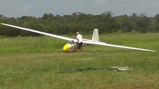 My first flight in a single seater