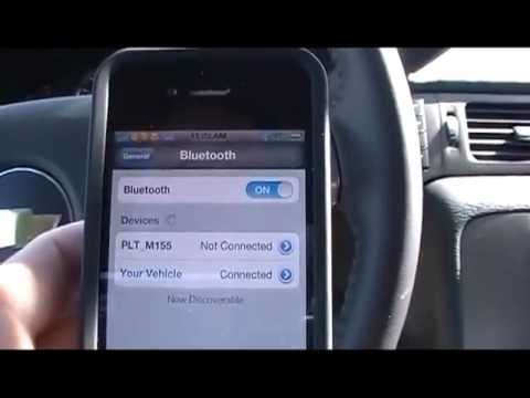 How to pair your bluetooth phone with your Chevrolet Silverado