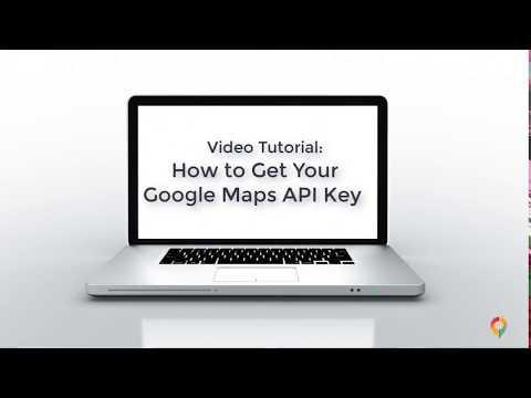 How To Get Your Google Maps API Key