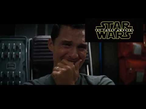 Matthew Mcconaughey's reaction to Star Wars teaser #2 - Celebrity reactions video