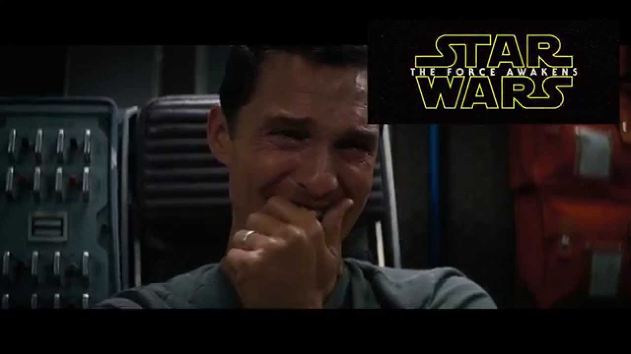 Matthew Mcconaughey's reaction to Star Wars ... - YouTube