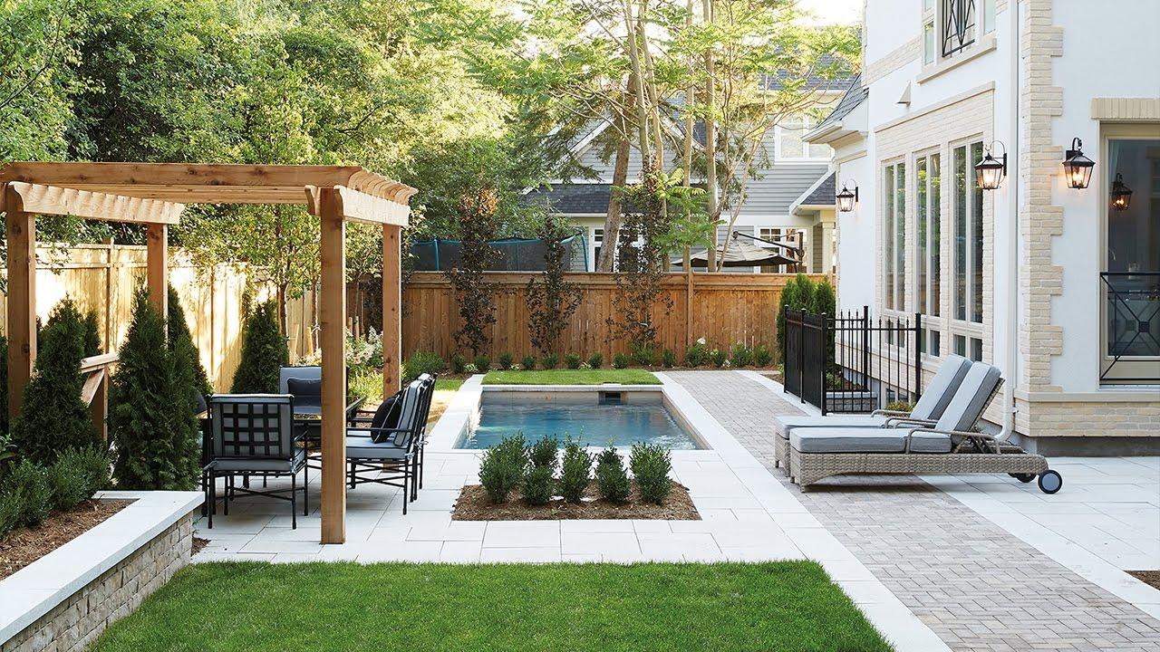 Dreamy City Home Backyards & Patios