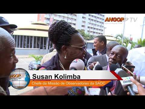 Eleições/2017: Candidato do MPLA analisa pleito  com observadores da SADC