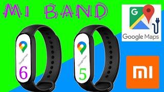 6#👉👉 Xiaomi Mi Band 6 y Xiaomi Mi Band 5 con Google Maps.🙈 Realidad? Creo que no es tan bueno💟. screenshot 5