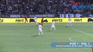 SUB 21 Portugal x Polónia - Estádio Municipal de Rio Maior - 2011
