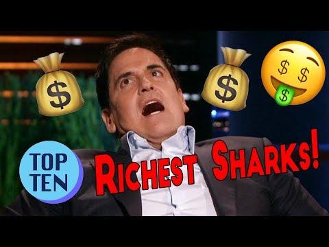 Top 10 Richest Shark Tank Sharks