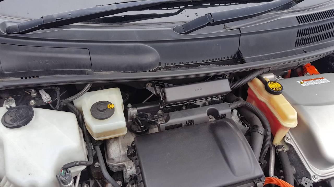 Toyota Prius engine shaking at idle