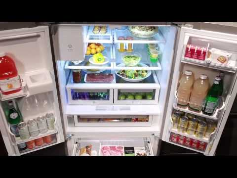 120 510l electrolux 3 door fridge ehe5167sb reviewed