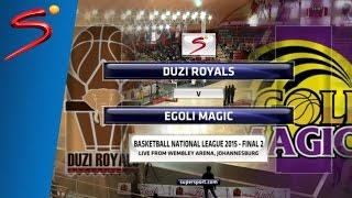 FINAL Game 2: Duzi Royals 42-59 Egoli Magic