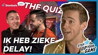 ZELFS ZIEKE DELAY ALS PASKIE ER NIET IS!? | The Quiz #2 | #StepUpYourGame | eDivisie