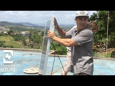 PUERTO RICO NEEDS ELECTRICITY! RECETA SOLAR IS HELPING - HURRICANE MARIA AFTERMATH