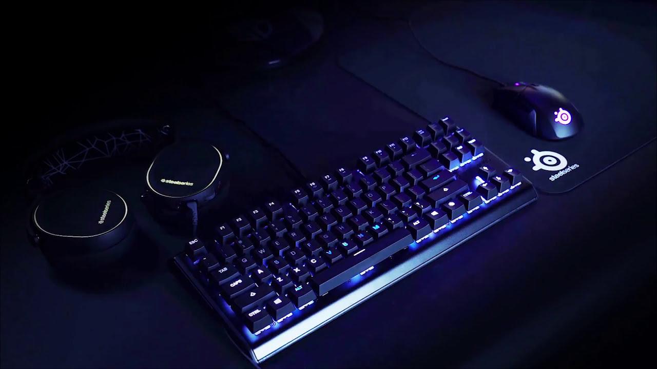 0981eaf9d2c BEST GAMING KEYBOARDS 2018 - SteelSeries Apex M750 TKL Mechanical Gaming  Keyboard
