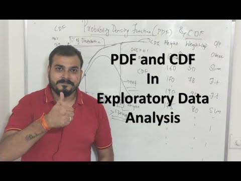 Tutorial 25- Probability Density function and CDF- EDA-Data Science thumbnail