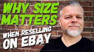 EBAY TIPS & TRICKS | How to Make Money Reselling Men's Clothing on eBay | WHY SIZE MATTERS