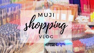 MUJI shopping vlog 😍🖊