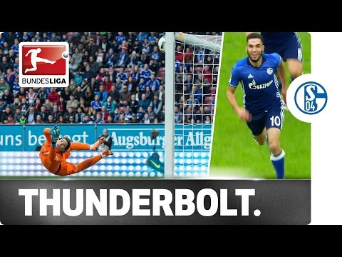 Bentaleb scores his first bundesliga goal in style