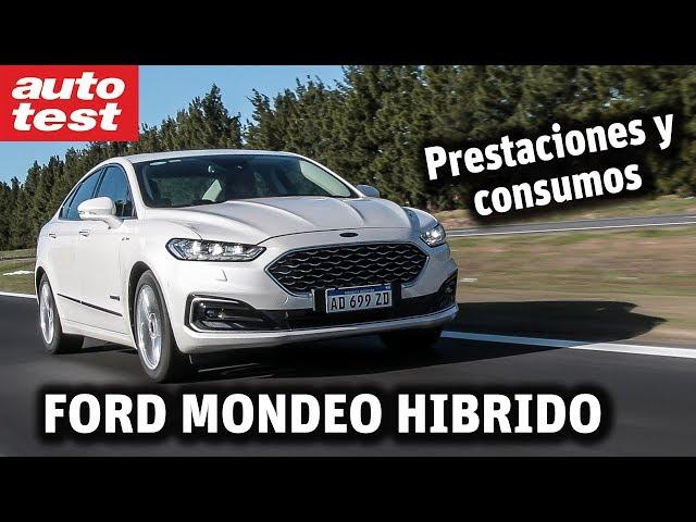 ¿Cuánto consume?: Ford Mondeo Vignale Hybrid