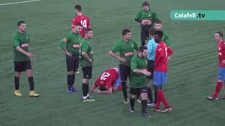 Resum del CF Calafell 1-CF Montblanc 2