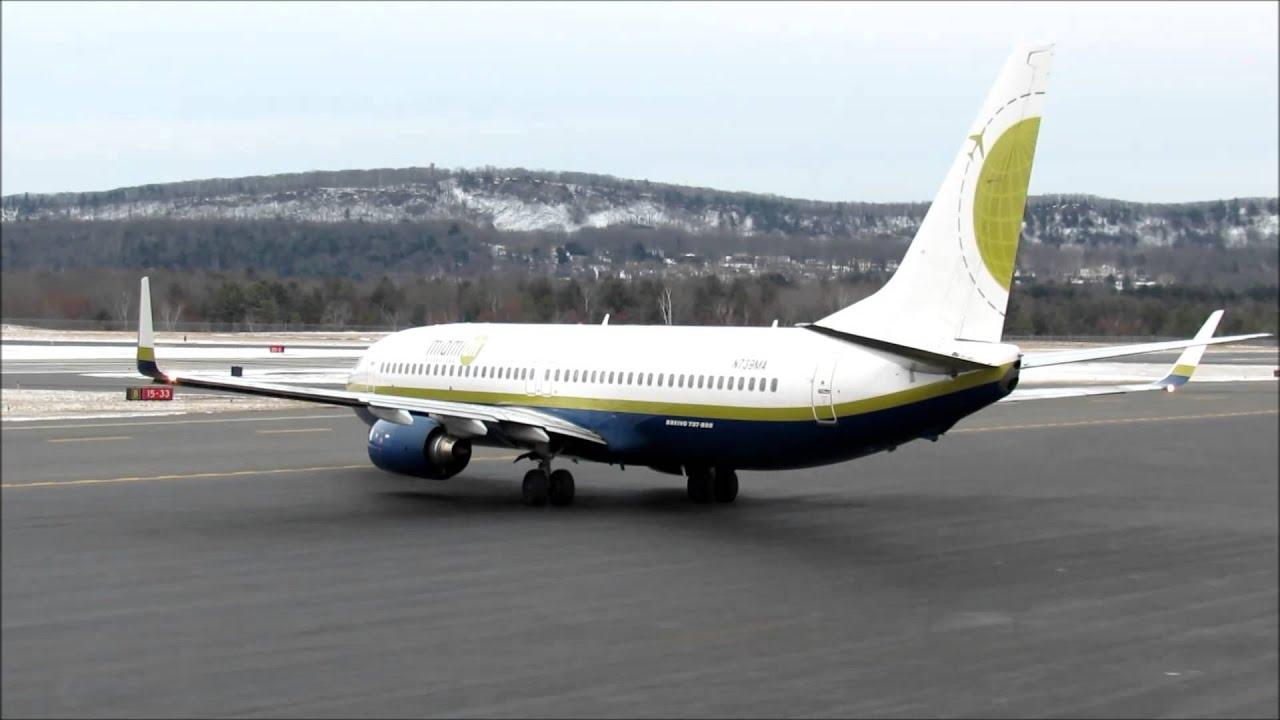 Miami Air International Boeing 737 800 Cold Start Taxi